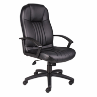 boss-products-plus-high-back-leather-office-chair