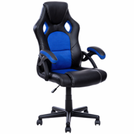 costway-pu-racing-office-chair