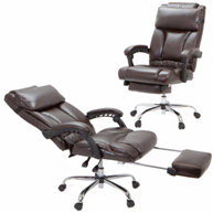 ergonomic-brown-leather-office-chair