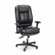 ofm-black-leather-office-chair-for-sale