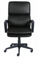 serta-black-leather-office-chair-for-sale