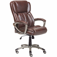 serta-brown-leather-office-chair-1